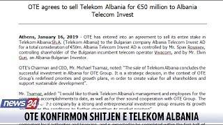 Telekom Albania shitet për 50 mln EURO
