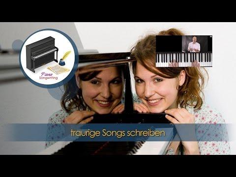 Klavier lernen - Songwriting lernen am Klavier - Mollakkorde in Songs - Lieder komponieren
