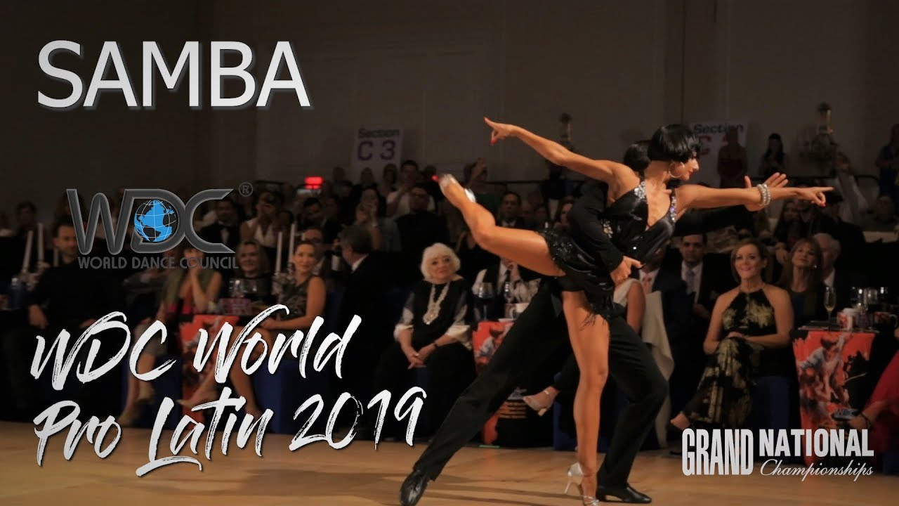 WDC World Professional Latin Championships 2019 I Samba I R1