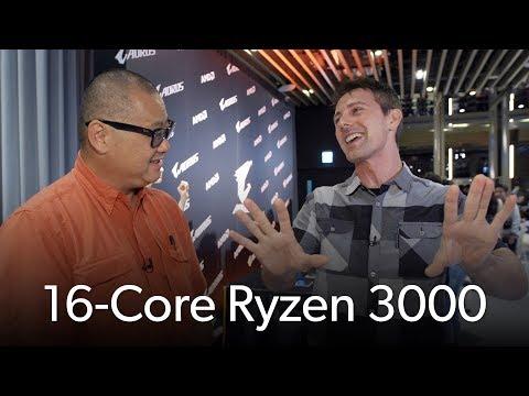 Tech YES City talks 16-core Ryzen 3000