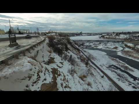 Drone  footage shot in Great Falls, MT