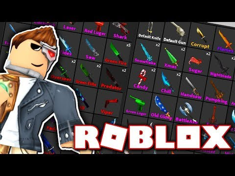 I HAVE THE BIGGEST INVENTORY IN MURDER MYSTERY 2!! (Roblox)