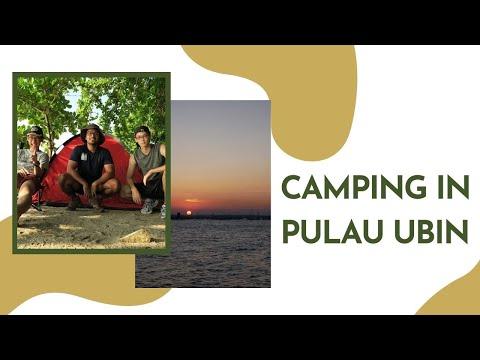 Camping in Pulau Ubin!