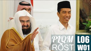 PLQM L06W01 - Langgam Rost Ciri Khas Syeikh Abdurrahman As Sudais Imam Masjidil Haram