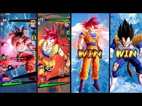 NEW Kaioken-SSG Goku-Vegeta PVP Battles Dragon Ball Legends