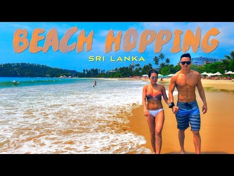 Beautiful Beaches in Sri Lanka! [MIRISSA AND WELIGAMA]
