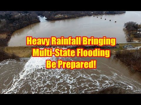 Heavy Rainfall Bringing Multi State Flooding Be Prepared 2/22/18