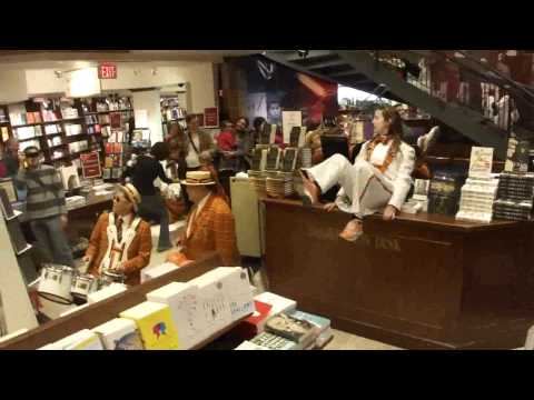 Princeton Marching Band Invades Harvard's Bookstore