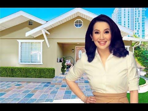 Kris Aquino's New House In Quezon City - [ Inside & Outside ] - 2018