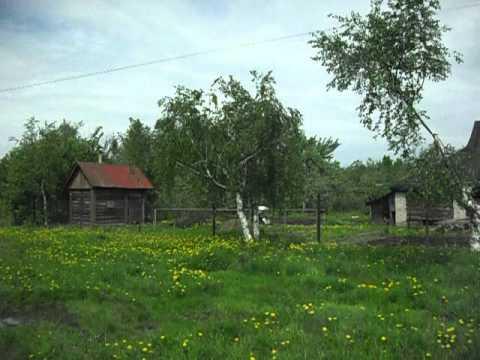 Бревенчатый дом в городе Родники