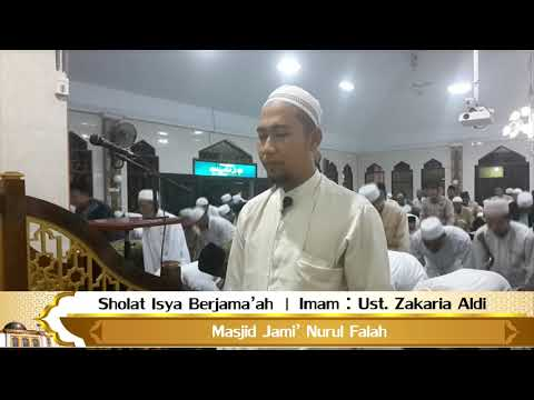 Sholat Isya Berjamaah | Ustadz Zakaria Aldi