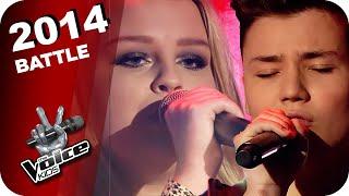 John Legend - All Of Me (Jasmin, Richard) | The Voice Kids 2014 | Battles | SAT.1