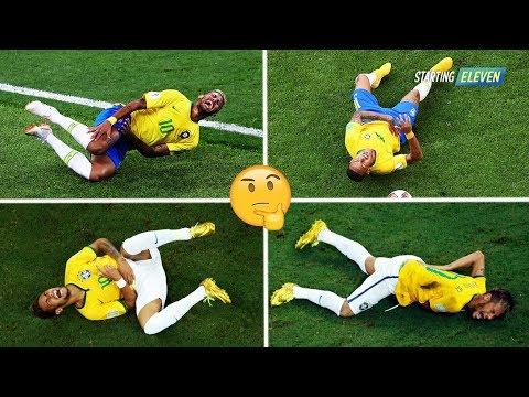 Si Jago Berpura Pura Cedera! Mengapa Neymar Sering Melakukan Diving?