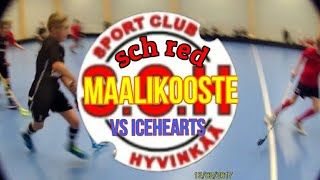 SCH Red vs ICEHEARTS Red Maalikooste