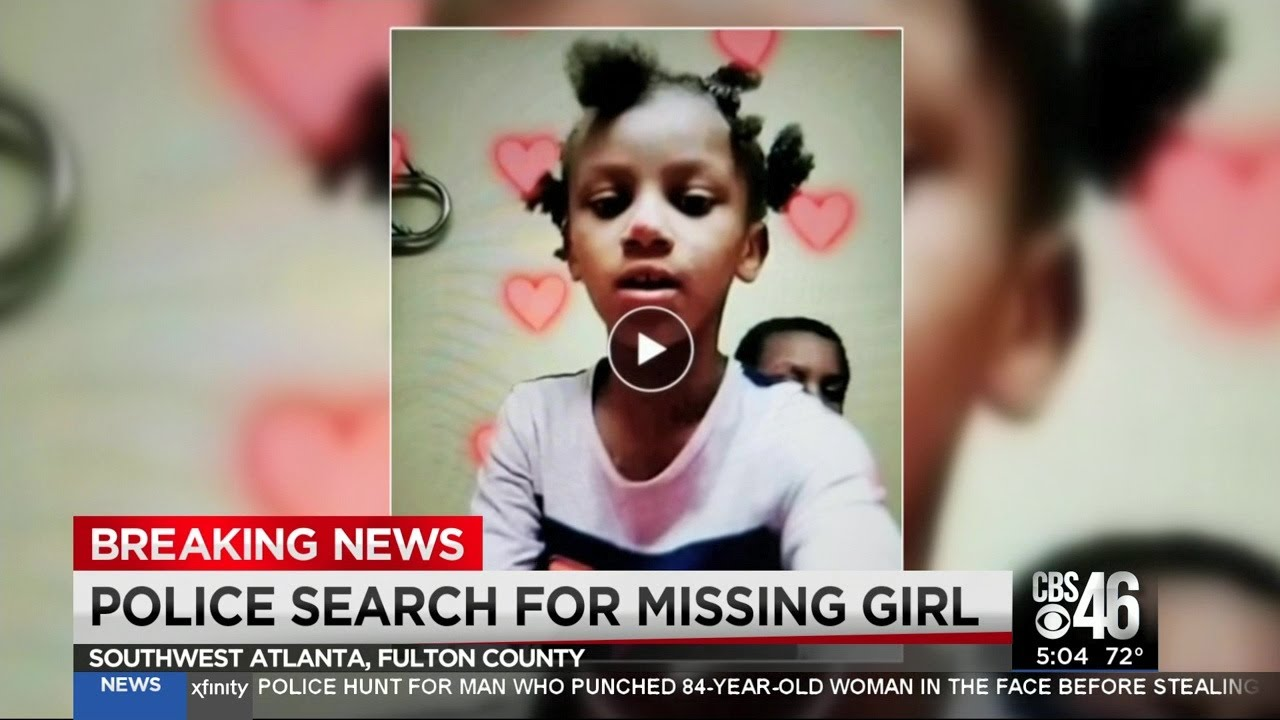 Police search for missing 8-year-old girl in southwest Atlanta