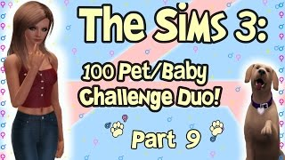 Let's Play: The Sims 3 100 Pet/ Baby Duo Challenge! (part 9): Pregnancies And Urine