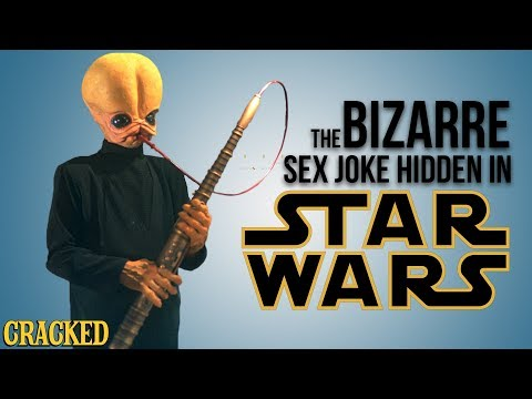 The Bizarre Sex Joke Hidden In Star Wars