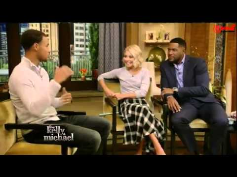 Stephen Curry Interview - Live with Kelly and Michael 09/22/15