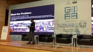 EthisCrowd pitch at Global Islamic finance forum 2016 by Ahmad Sabree