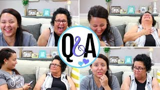 Q&A WITH MY MOM!! | THE TRUTH ABOUT MY CHILDHOOD, EMBARRASSING MOMENTS, & MORE! | Page Danielle