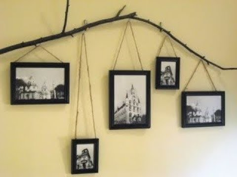 Picture Hanger Ideas | DIY Hanging Photo Display, Creative Wall ...
