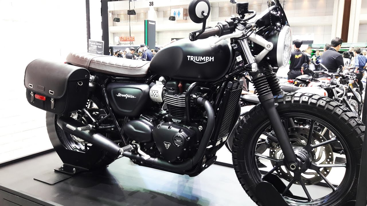 triumph street twin accessories part - youtube