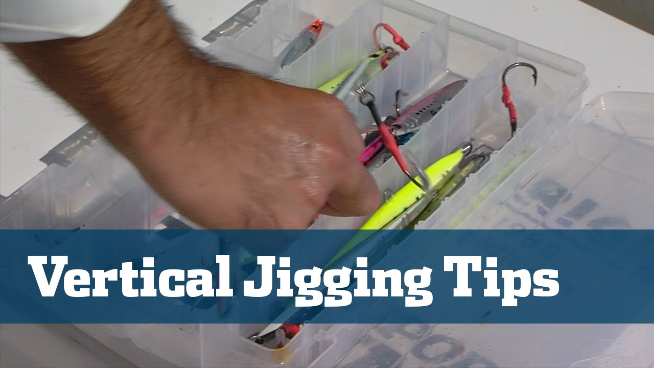 Vertical jigging tips tackle techniques lures florida for Jig fishing techniques