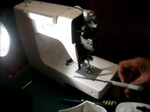 How To Replace A Sewing Machine Light Bulb YouTube Magnificent Kenmore Sewing Machine Light Bulb