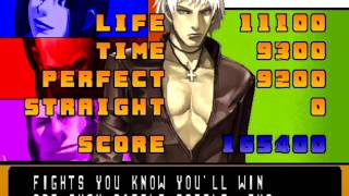 The King of Fighters 2001 (PlayStation 2) Arcade as Hero Team