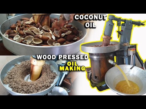 HOW? Coconut OIL Is Made?(With English Subtitles) Wood Pressed Oil | Chekku Ennai | Factory Explorer