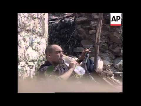 Kosovo: KLA Fighters Clash With Serb Paramilitary Police - 1998