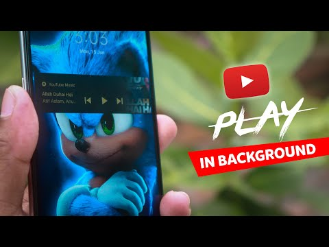 Play Youtube Videos in Background on Official App *Secret Trick*(NO ROOT)⚡⚡⚡