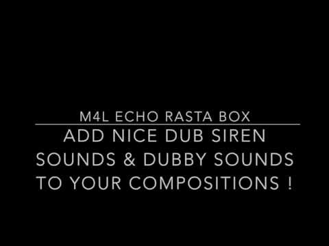 // M4L Echo Rasta Box // adding dubby sounds to your mix & compositions //
