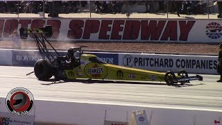 2017 NHRA Toyota Nationals @ LVMS (Part 18 - Top Fuel Dragster Saturday Afternoon Qualifying)