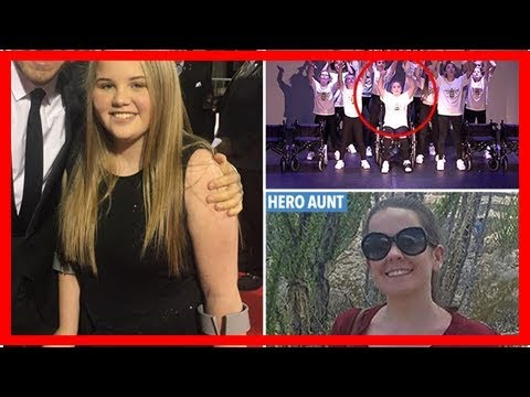 Teenage Manchester bomb victim Hollie Booth performs Ariana Grande hit for Britain's Got Talent aud