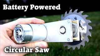 Making a Battery Powęred Circular Saw