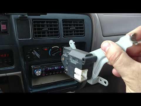 01-04 Toyota Tacoma A/C Fix - Mode Actuator
