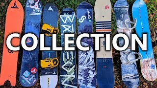 My Snowboard Collection Review