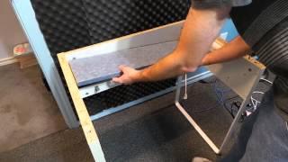 Improving a crappy Ikea computer desk.