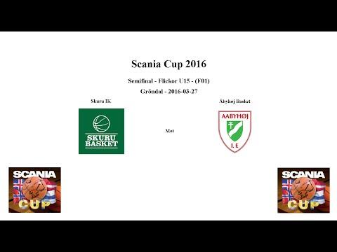 Skuru Basket (F01) mot Åbyhøj Basket (Denmark) - SEMI - 2016-03-27