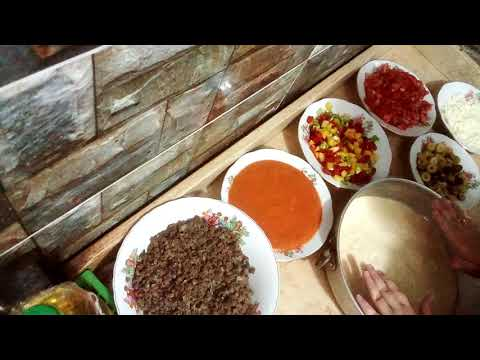 صورة  طريقة عمل البيتزا طريقه عمل البيتزا بأبسط المكونات ❤️😍 طريقة عمل البيتزا من يوتيوب