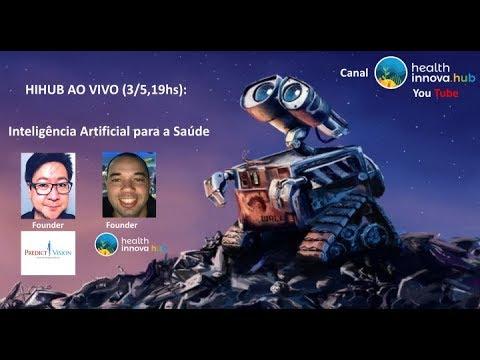 AO VIVO: Gilberto Takata, founder da PredictVision, Startup de Inteligência Artificial p/Saúde!