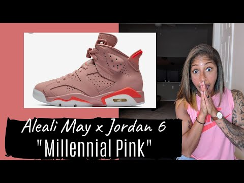b55ca7e0228 Talking Sneaker Releases with TJ - Aleali May x Jordan 6