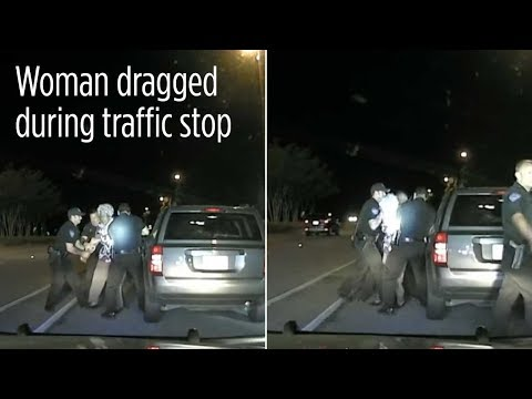 RAW VIDEO: 65-year-old Grandmother Dragged During Traffic Stop