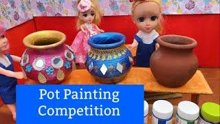 மண்வாசனை - Episode 114 - DIY Diwali Diya - Pot Painting and Decoration Competition