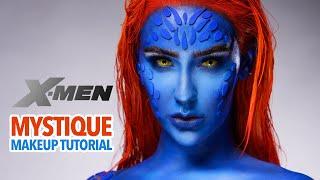 Mystique (X-Men) Makeup Tutori…