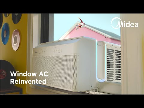 Midea U: The Window Air Conditioner, Reinvented