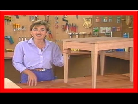 How To Build A Table Out Of Wood  How To Make A Table