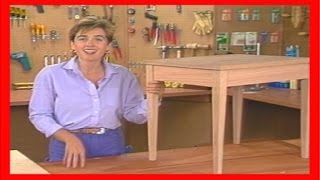 How To Build A Table Out Of Wood | How To Make A Table Step By Step [1 Of 3]