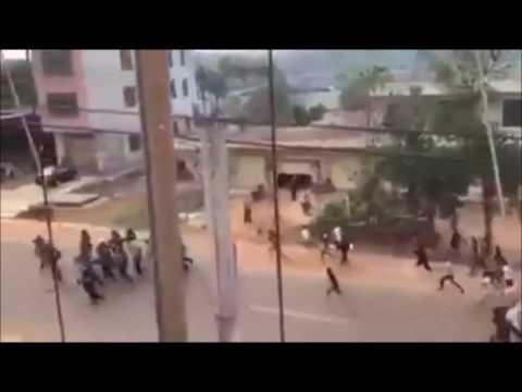 Bulawayo - Zimbabwe  - ZRP Outnumbered! Latest Footage!